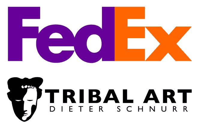Zwei Logos mit doppelter Symbolik - FedEx und TribalArt